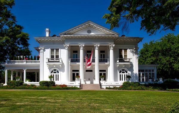 Alabama Governor's Mansion in Montgmery Alabama
