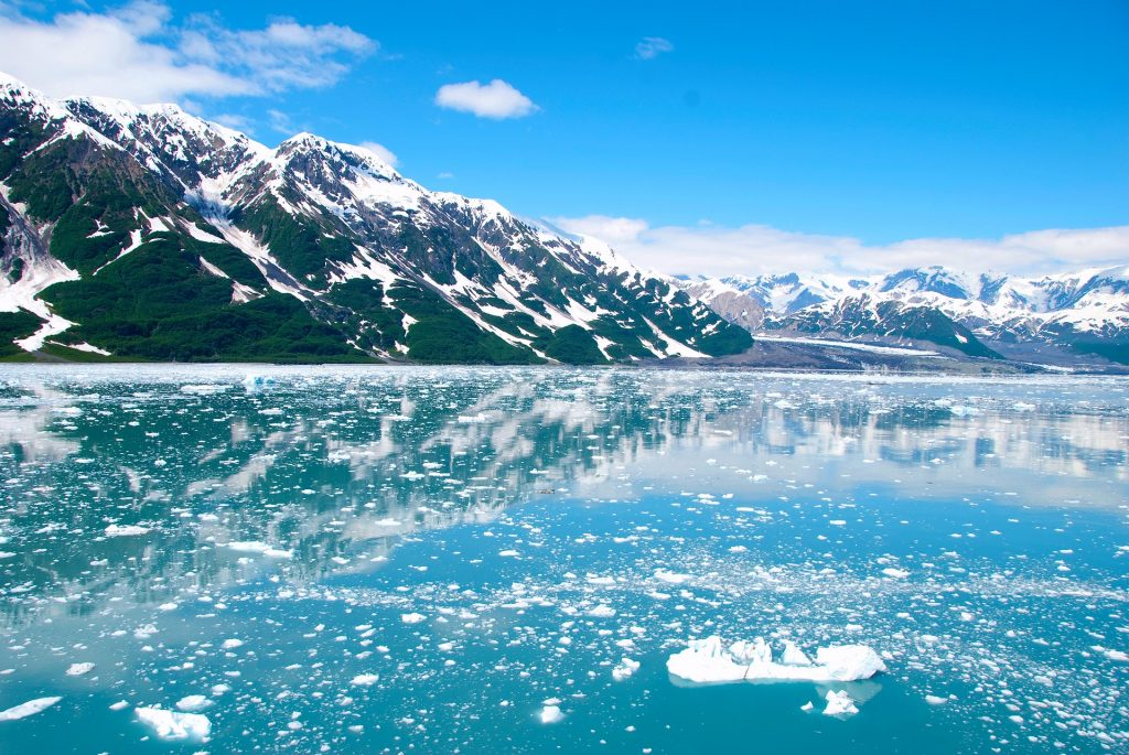 Glacier of Alaska