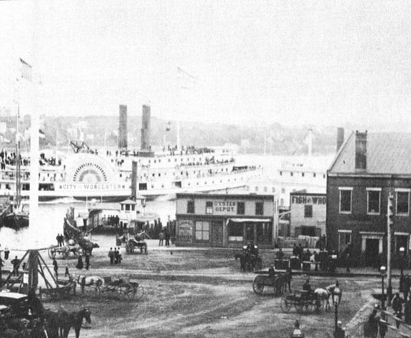 New London in 1883