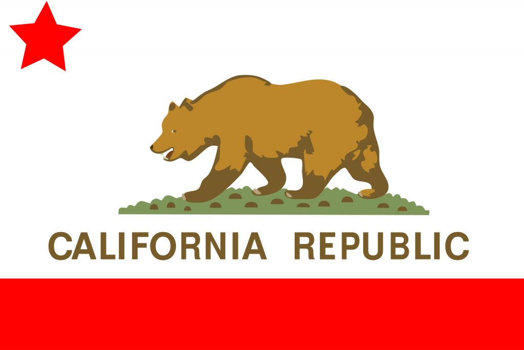 flag of California